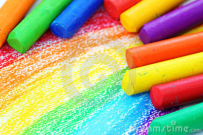Oil Pastel Crayons Stock Photos, Images, & Pictures.