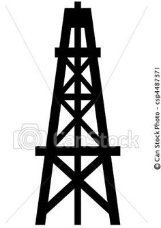How To Draw An Oil Rig.
