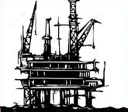 Free Oil Platform Clipart.