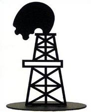 Oil Tower Clipart.