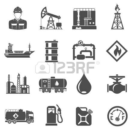 6,911 Oil Production Icons Stock Vector Illustration And Royalty.
