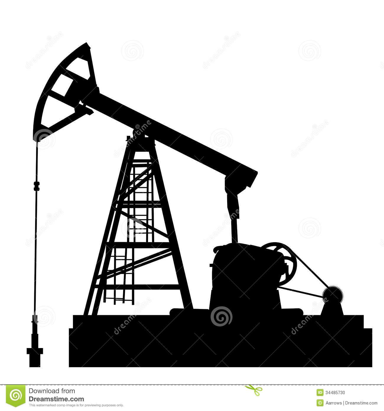 Oil Drill Clipart.