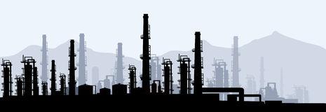 Clipart oil refinery.