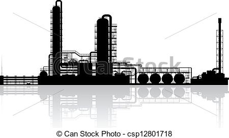 Clipart Oil Refinery.