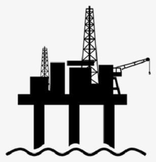 Free Oil Rig Clip Art with No Background.