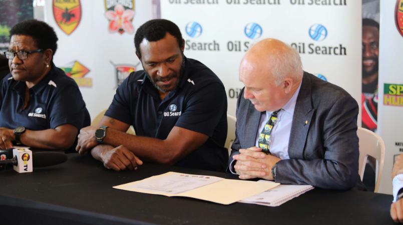 OSL renews PNG Orchids partnership.