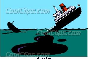 Oil spill Vector Clip art.