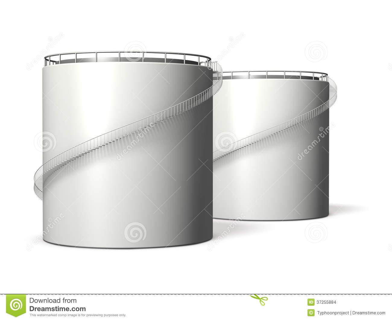 Oil Tank Clipart.
