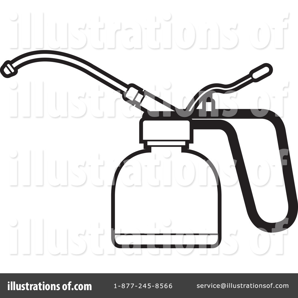Oil Can Clipart #1242437.