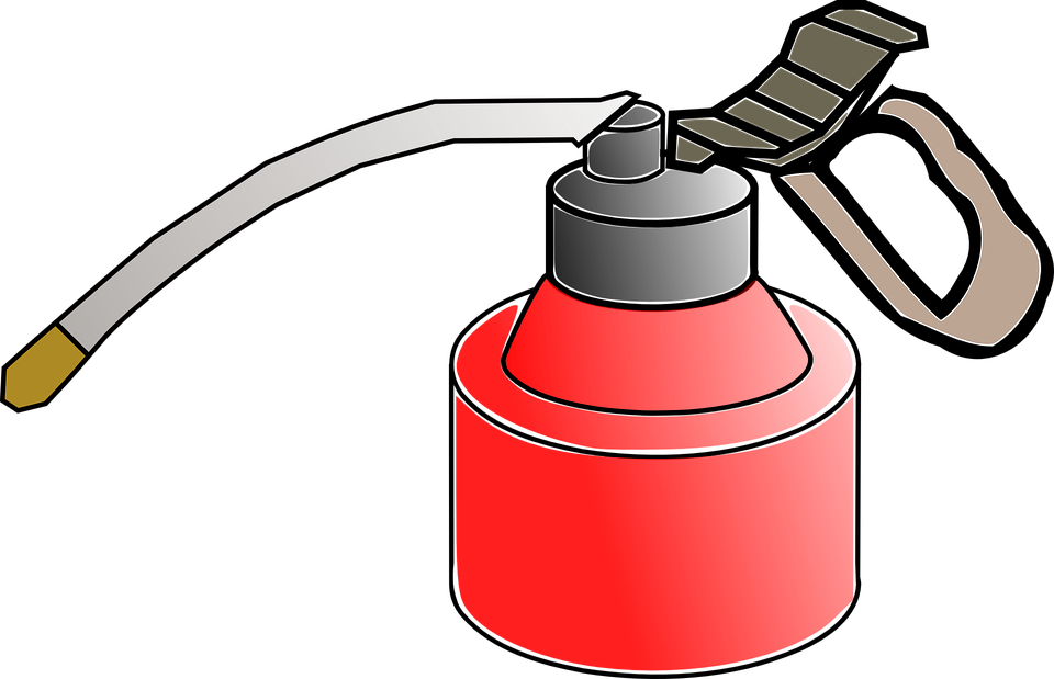Free vector graphic: Oil Can, Oilcan, Oiler, Oil, Tank.