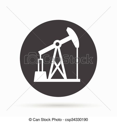 EPS Vectors of Oil pump icon. Oil pump symbol. Vector illustration.