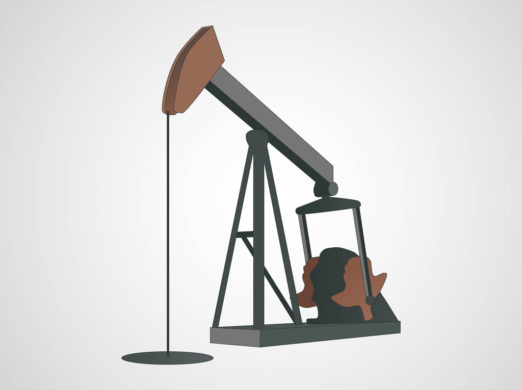 Oil Well Clipart.