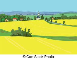 Oilseed rape Vector Clipart Illustrations. 14 Oilseed rape clip.