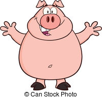Oink Illustrations and Clipart. 182 Oink royalty free.