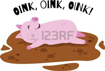 418 Oink Cliparts, Stock Vector And Royalty Free Oink Illustrations.