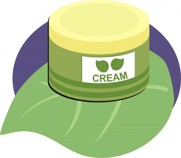 Hand Cream Clip Art Free Stock Photo.