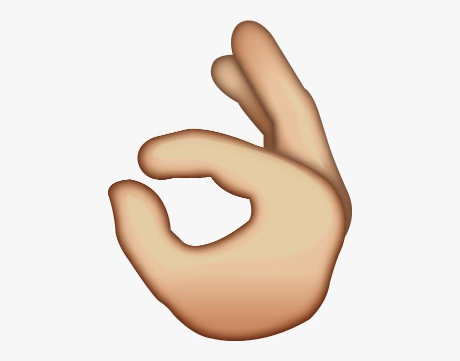 Ok Emoji Clipart.