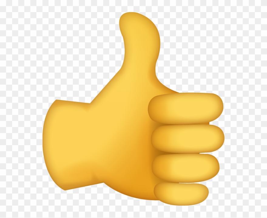 Thumb Signal Emoji Ok Clip Art.