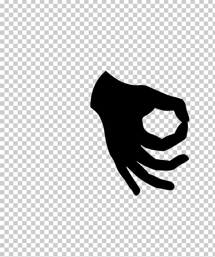 OK Sign Language Symbol Thumb PNG, Clipart, Black, Black And.