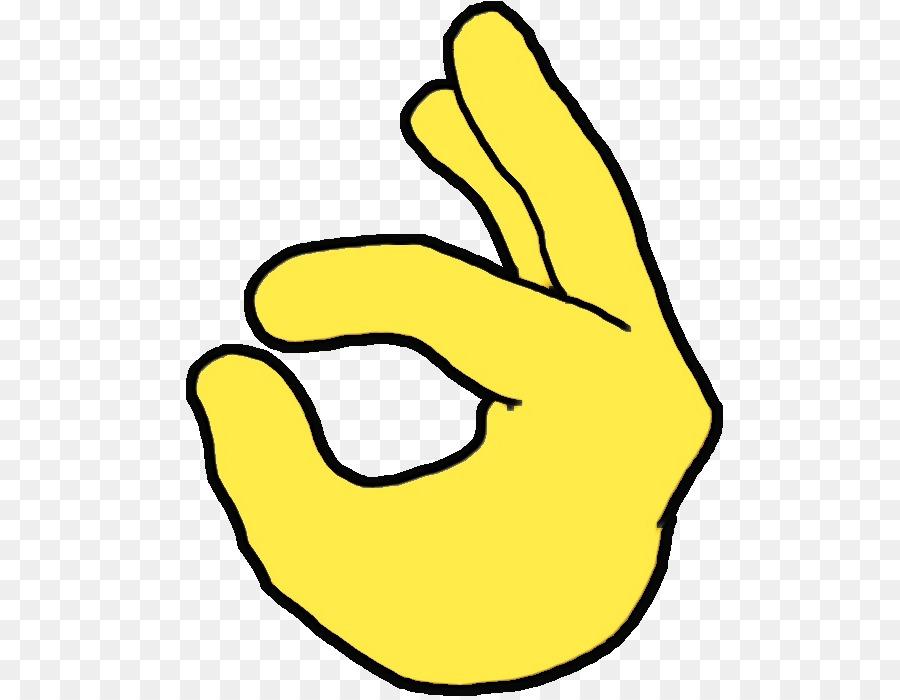 Ok Hand Emoji.