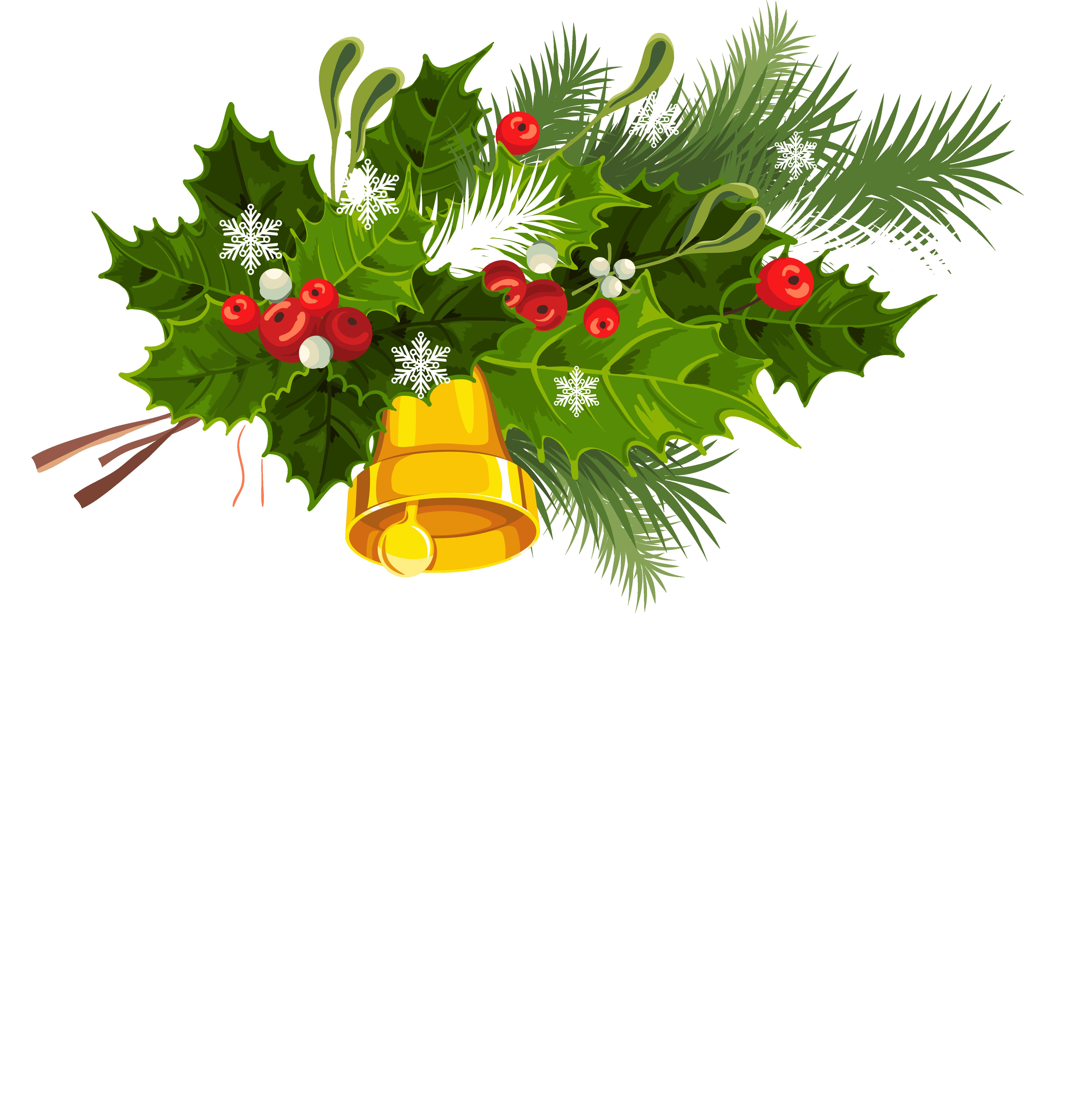 Christmas Bell Image.