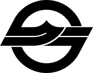 Flag Of Kurashiki Okayama clip art Free vector in Open office.