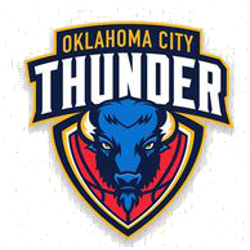 Oklahoma City Thunder Concepts Logo Sports History Logo.