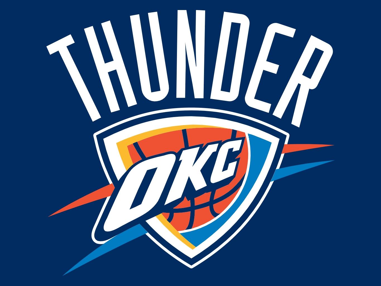 Free Okc Thunder Black And White Logo, Download Free Clip.