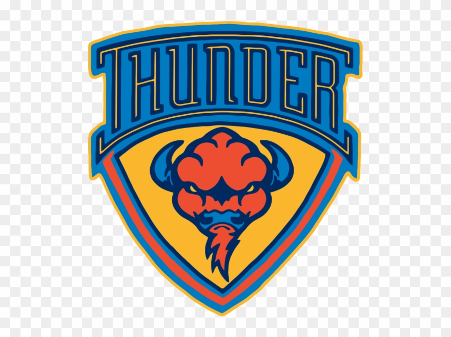 Oklahoma City Thunder Clipart Transparent.