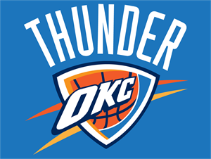 Oklahoma City Thunder Clipart.