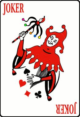 Deck Of Cards Joker.