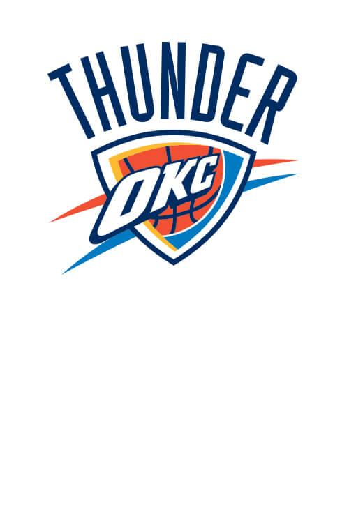 Oklahoma City Thunder Player Clip Art.