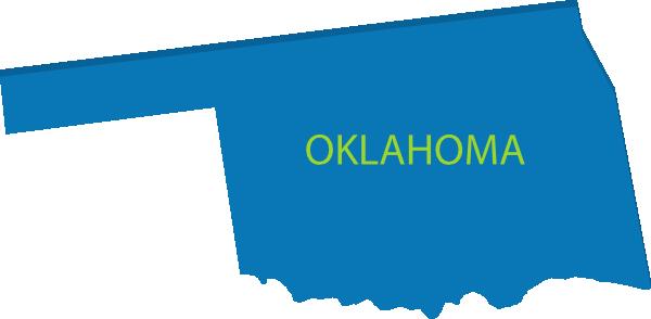 3d Oklahoma Map Clip Art at Clker.com.