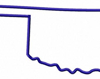 Oklahoma silhouette.