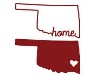 Oklahoma outline.