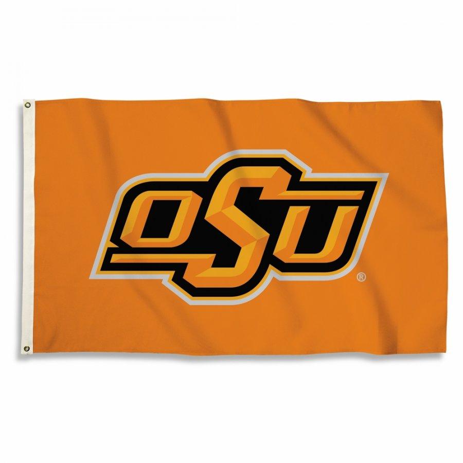 Oklahoma State Cowboys Logo 3\' x 5\' Flag.