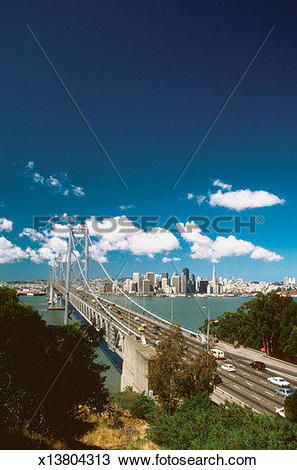 Stock Photo of High angle view of San Francisco.