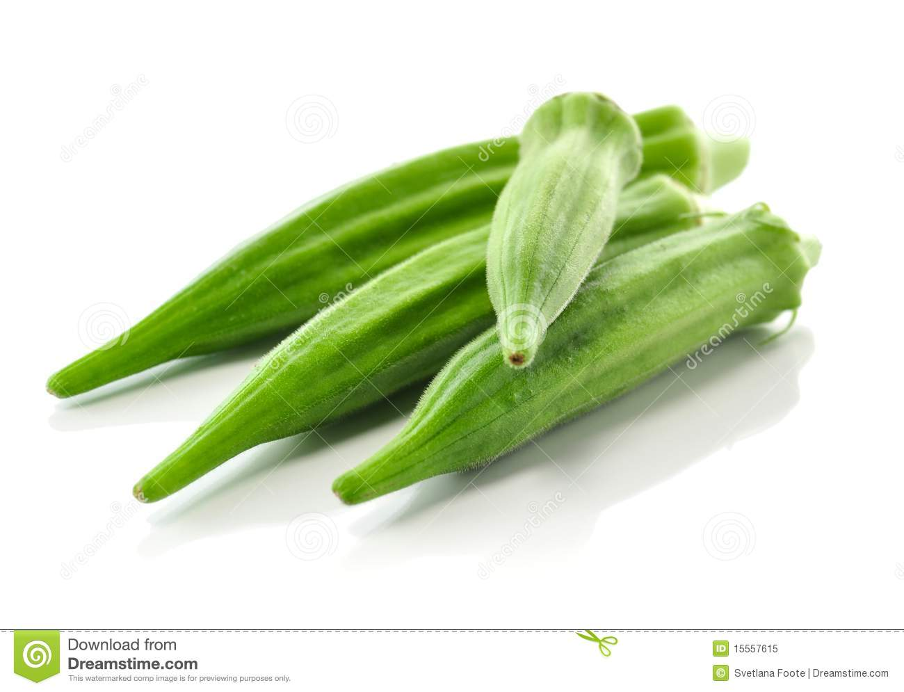 Okra Black And White Clipart.