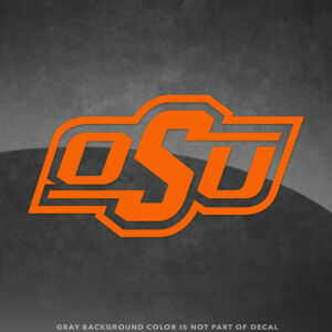 Details about Oklahoma State Cowboys OSU Logo Vinyl Decal Sticker.