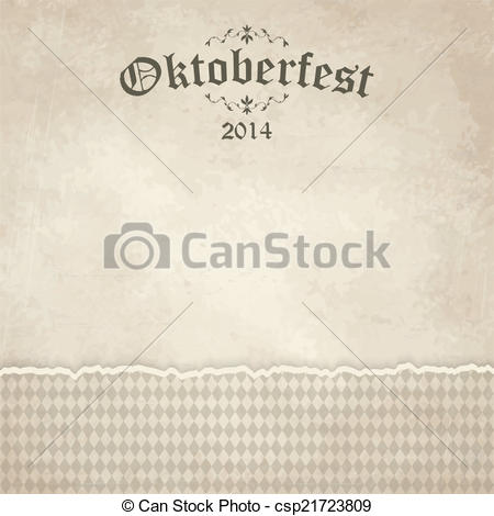 Vector Clipart of old vintage background with checkered pattern.