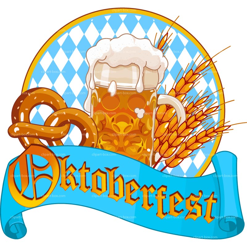 German oktoberfest clipart.