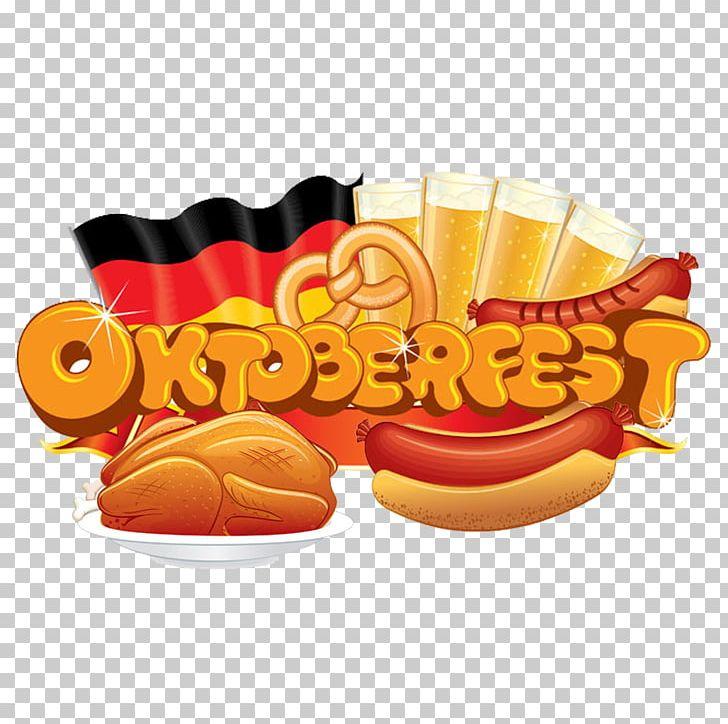 Oktoberfest Bratwurst German Cuisine Hot Dog PNG, Clipart.