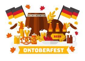 Oktoberfest Free Vector Art.
