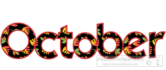 Free October Clip Art Pictures.