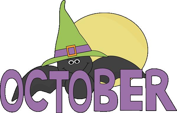 October Clip Art.