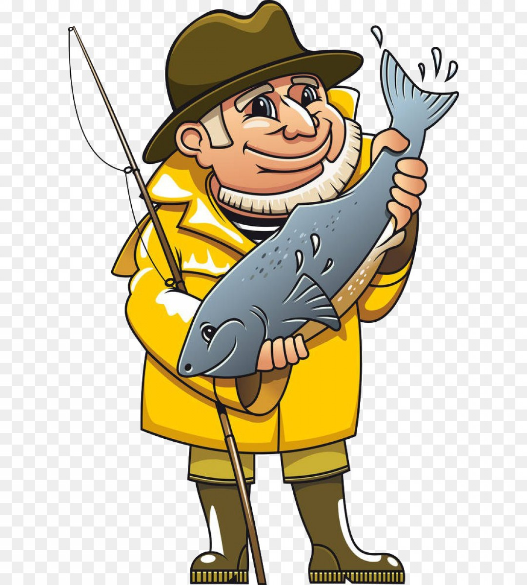 Png Fisherman Royalty Free Fishing Clip Art Fishing Ol.