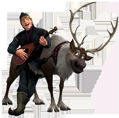 Disney Sven Clipart.