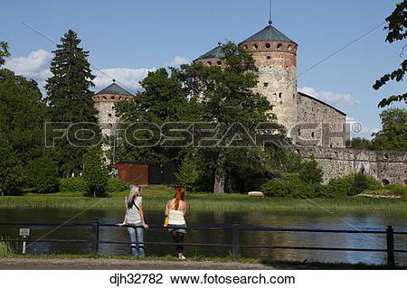 Stock Photo of Finland, Region of Southern Savonia, Saimaa Lake.