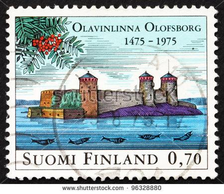 Olavinlinna Stock Photos, Royalty.