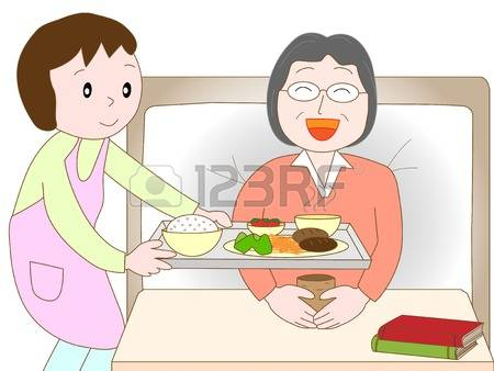 607 Elderly Caregiver Stock Vector Illustration And Royalty Free.